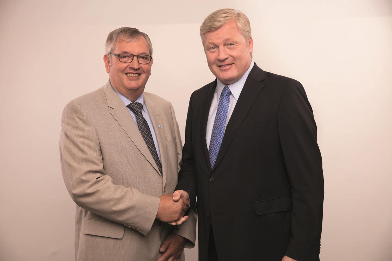 MdL Karl-Heinz Bley und Bernd Althusmann