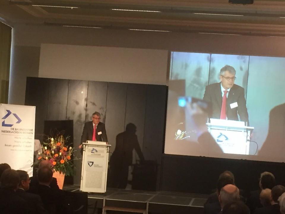 Karl Heinz Bley Mdl Bautag Des Bauindustrieverbandes